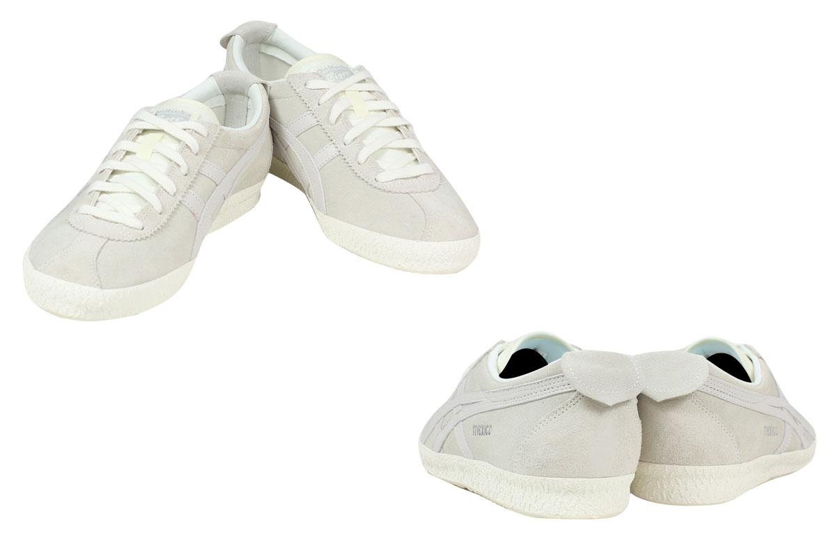 鬼冢虎 ASICs 鬼冢虎 asic 墨西哥大使运动鞋墨西哥代表团 TH 639 L-9999 男鞋灰色