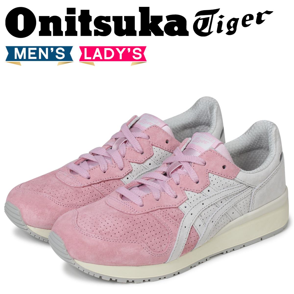 Onitsuka Tiger タイガー アリー オニツカタイガー TIGER ALLY メンズ レディース スニーカー TH701L-2090 ピンク
