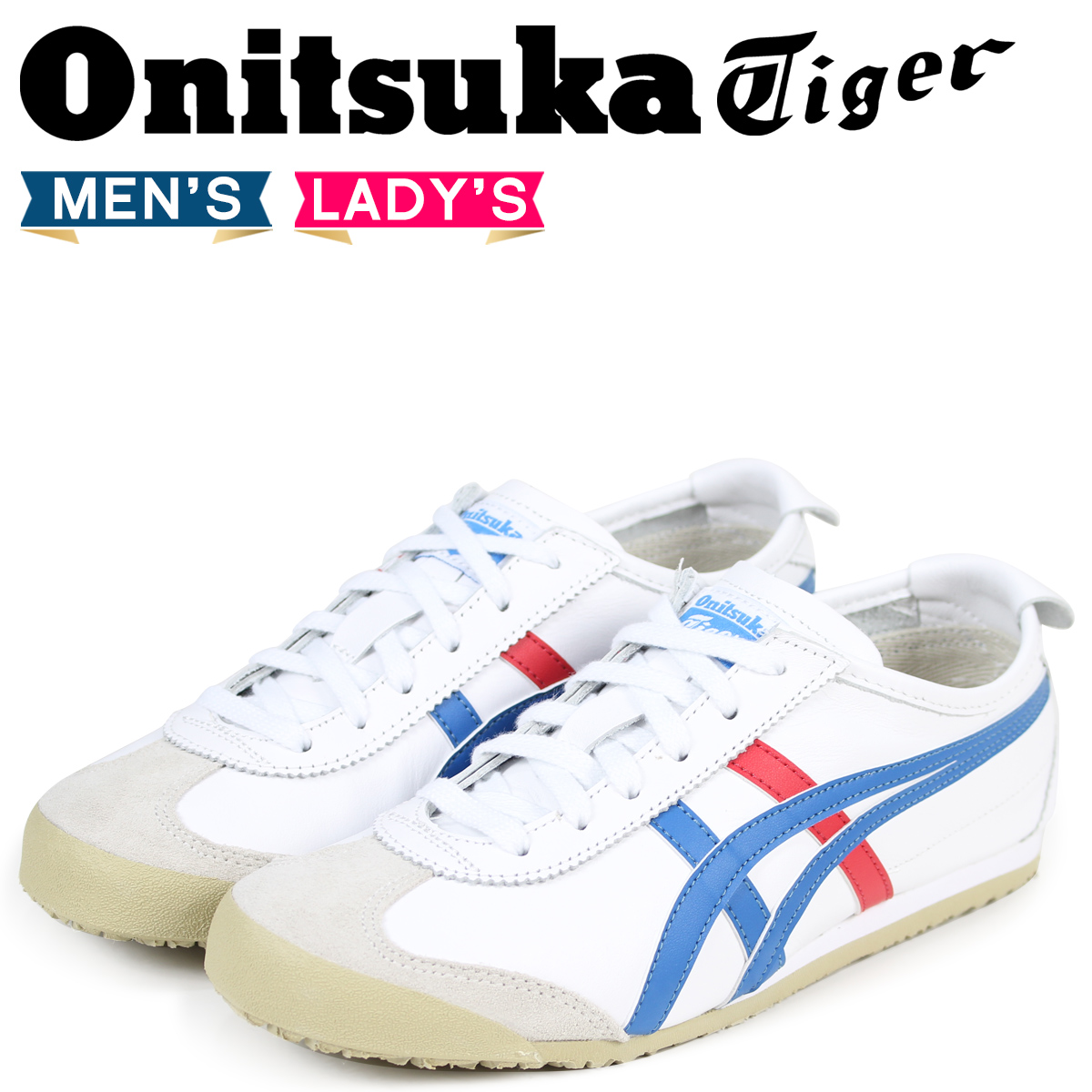 reputable site 7382d 87907 Onitsuka Tiger Mexico 66 Onitsuka tiger MEXICO 66 sneakers men gap Dis  DL202-0146 THL202-0146 white white