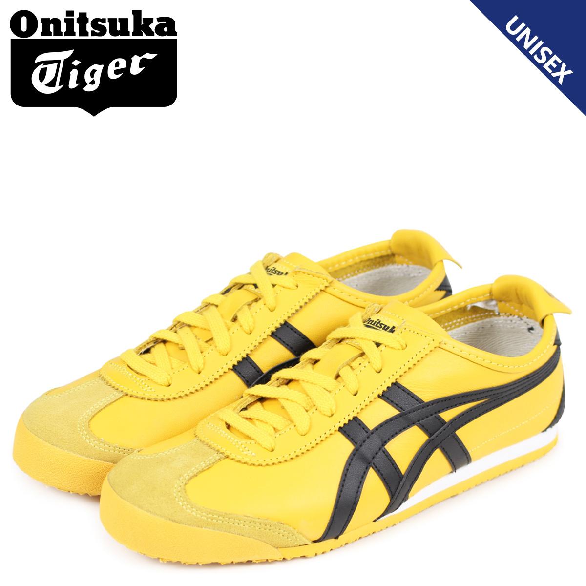 Onitsuka Tiger メキシコ 66 オニツカタイガー MEXICO 66 メンズ レディース スニーカー DL202-0490 THL202-0490 DL408-0490 イエロー