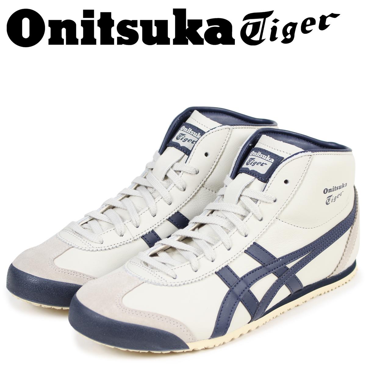 Onitsuka Tiger メキシコ ミッド ランナー オニツカタイガー MEXICO MID RUNNER メンズ スニーカー DL328-1659 THL328-1659 ホワイト 白