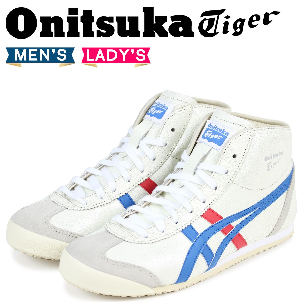 Onitsuka Tiger メキシコ ミッド ランナー オニツカタイガー MEXICO MID RUNNER メンズ スニーカー DL328-0142 THL328-0142 ホワイト