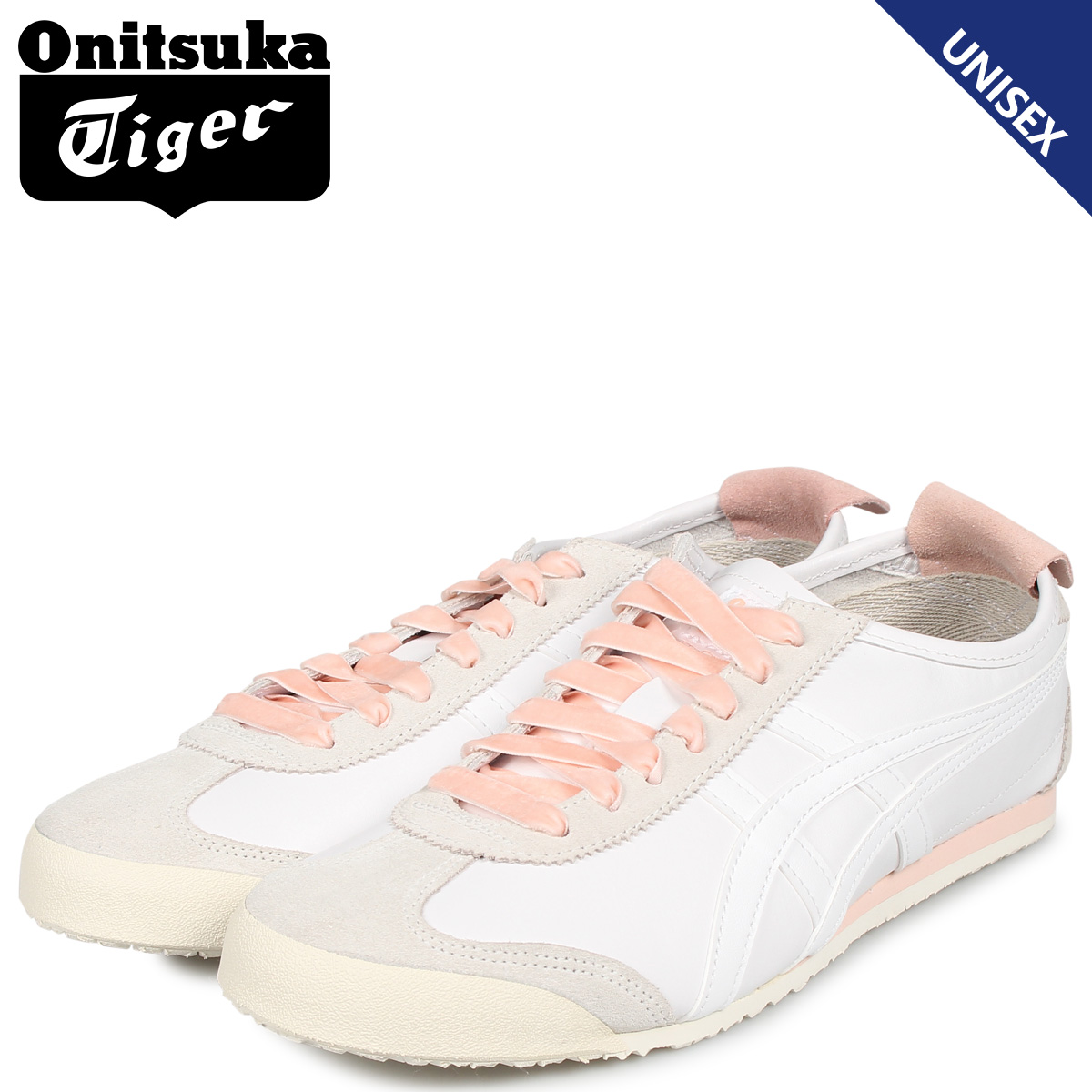 Onitsuka Tiger オニツカタイガー メキシコ 66 スニーカー メンズ レディース MEXICO 66 ホワイト 白 1182A104-100