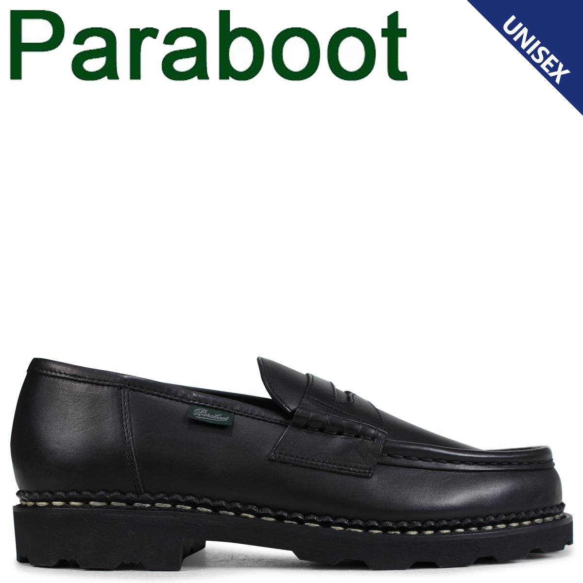 PARABOOT ランス パラブーツ REIMS シューズ ローファー 099412 メンズ レディース ブラック 黒