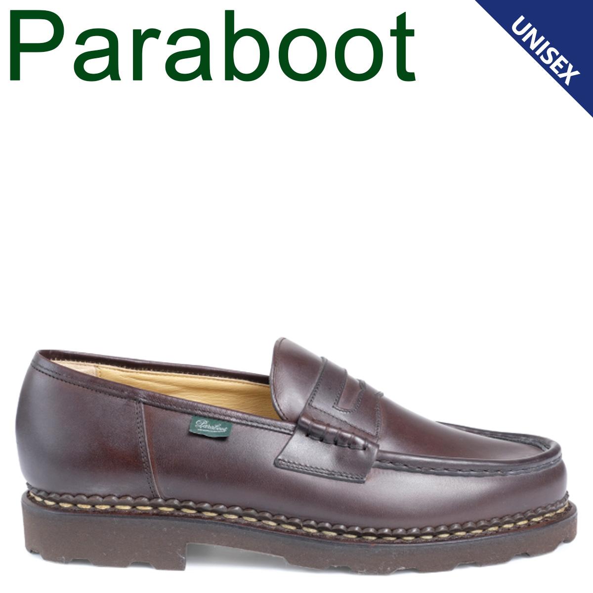 PARABOOT パラブーツ ランス シューズ ローファー メンズ レディース REIMS ブラウン 099413 [4/9 追加入荷]