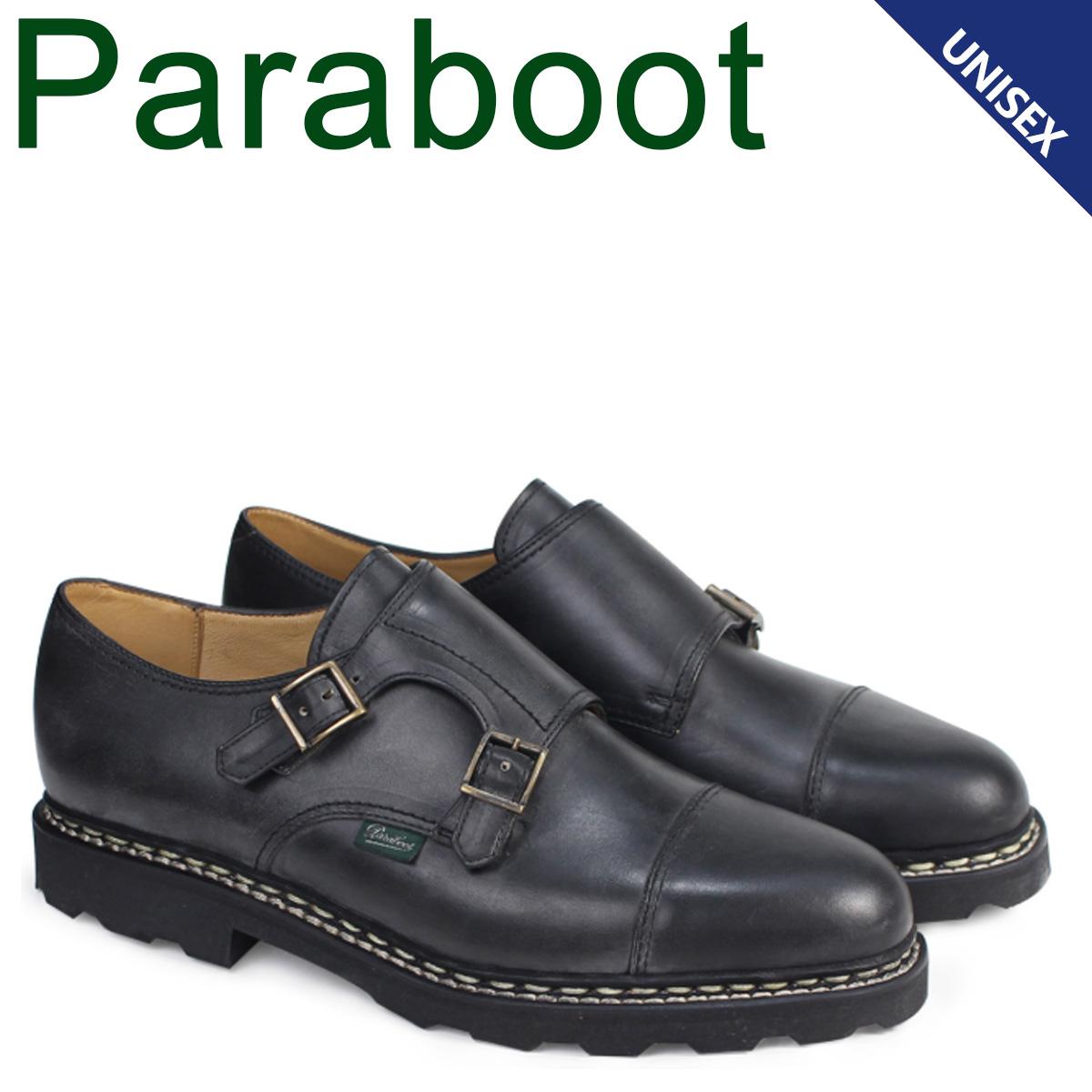 PARABOOT ウィリアム パラブーツ WILLIAM シューズ ダブルモンクシューズ 981412 メンズ レディース 靴 ブラック