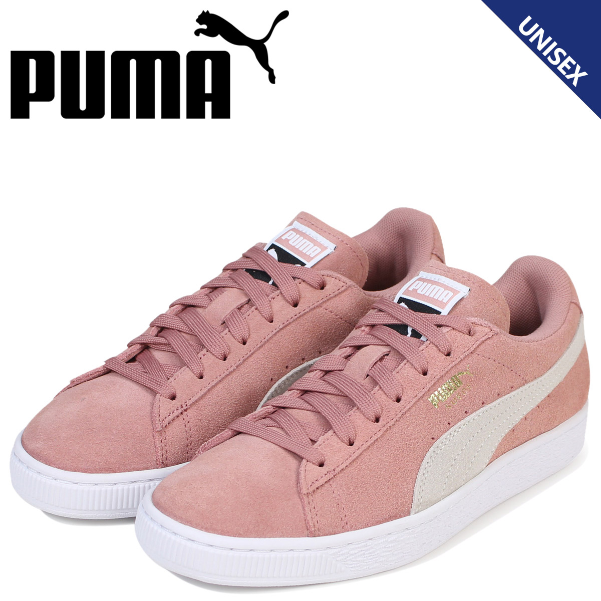separation shoes 18984 c43be PUMA Puma suede classical music Lady's sneakers SUEDE CLASSIC WMNS  355,462-56 men's shoes pink