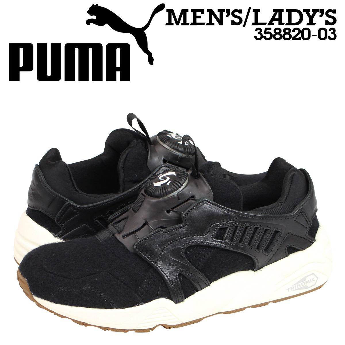 PUMA Disc Blaze Felt BLACK Sneaker/Scarpe