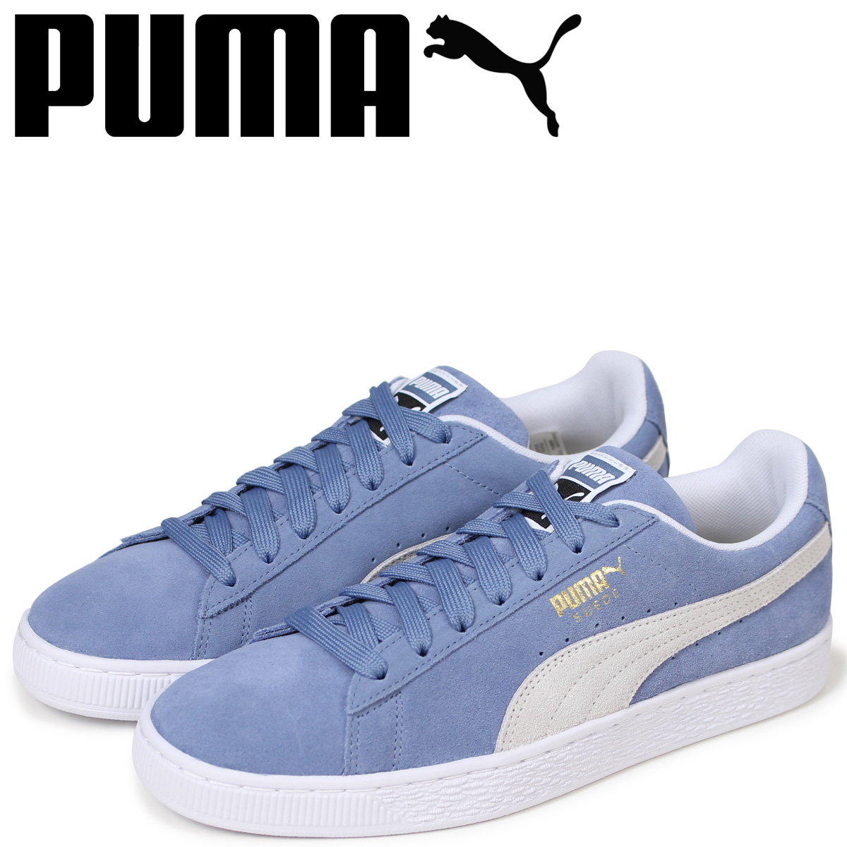 6248d708cf4 PUMA Puma suede classical music sneakers men SUEDE CLASSIC 365,347-03 blue  [load planned ...