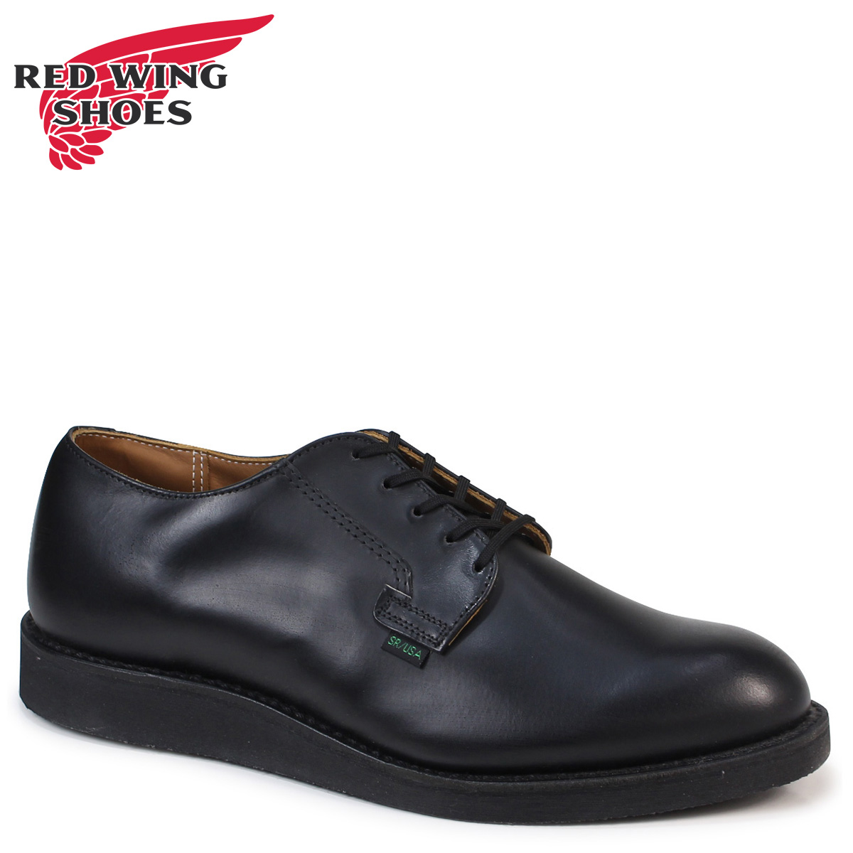 1d0955e63a RED WING red red wing shoes Oxford postman POSTMAN OXFORD men D Wise black  black 101