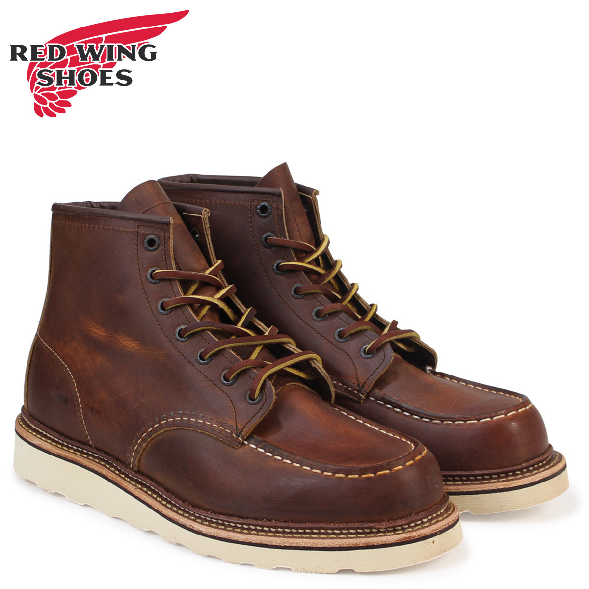 ca975f9fd81b «Booking products» «10   22 around stock» Redwing RED WING 6 inch boots  モカシントゥ 1907 6inch Moc Toe Boots D wise カッパーラフ タフレザー mens Made in ...