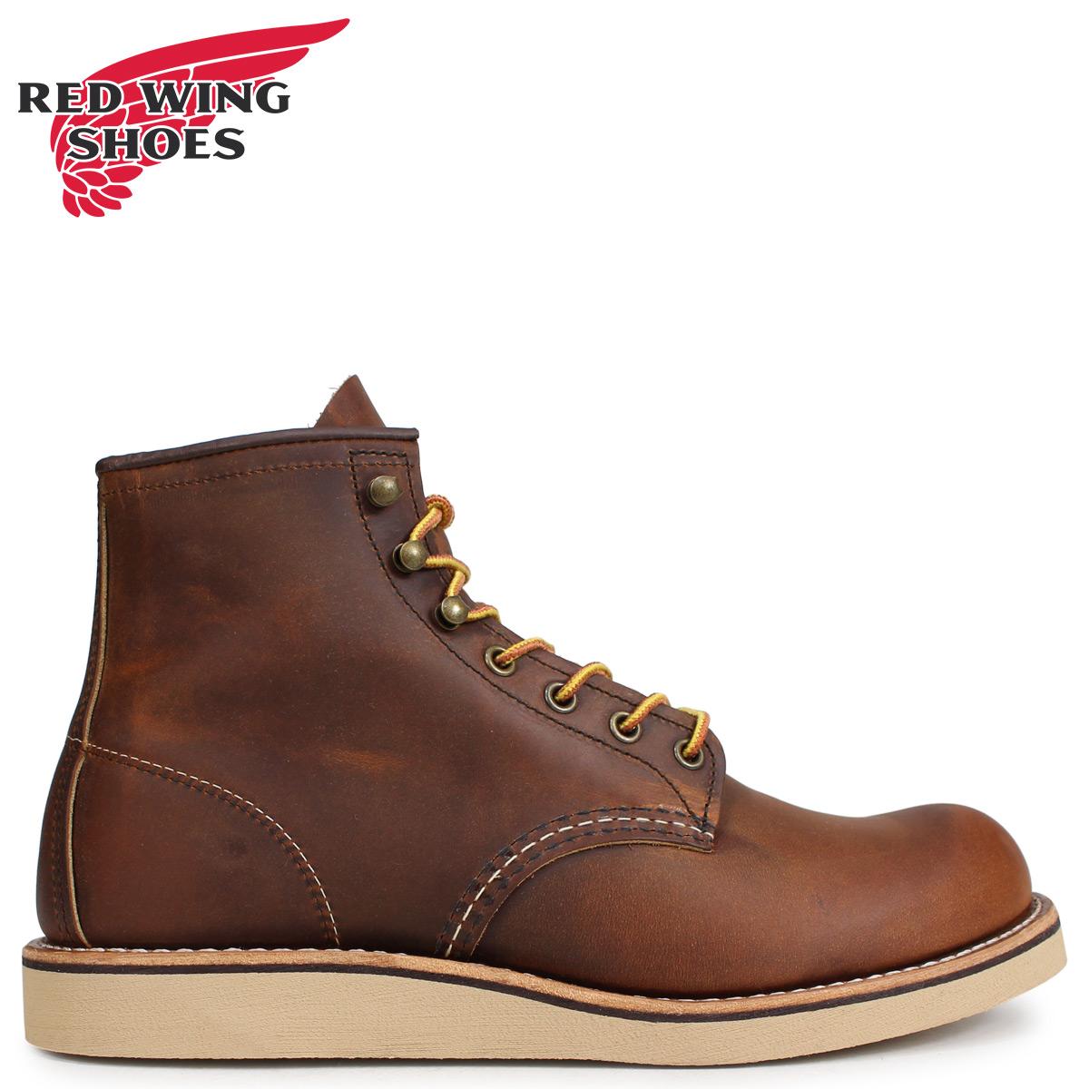 RED WING レッドウィング ブーツ ローバー メンズ HERITAGE ROVER BOOT Dワイズ ブラウン 2950