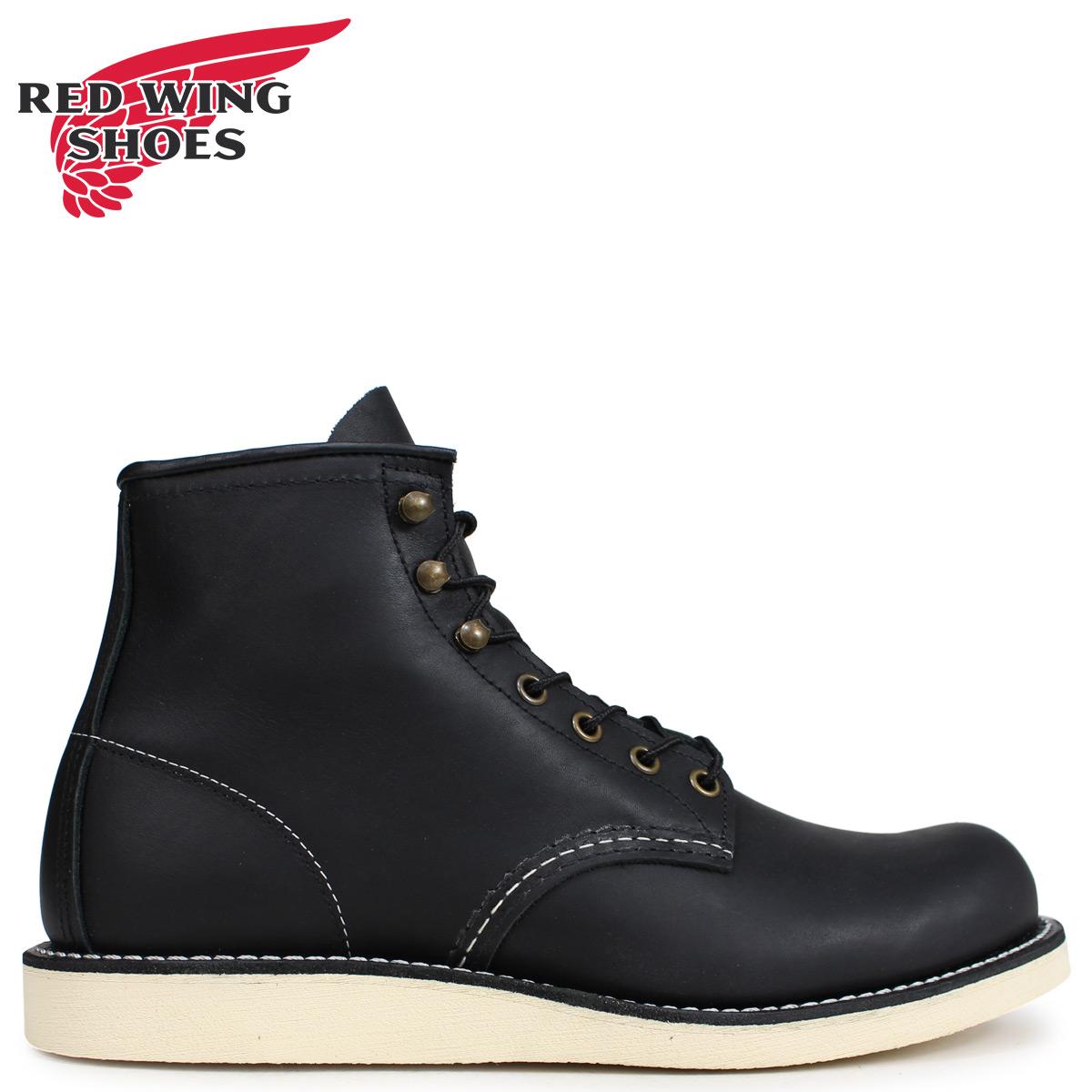 RED WING レッドウィング ブーツ ローバー メンズ HERITAGE ROVER BOOT Dワイズ ブラック 黒 2951