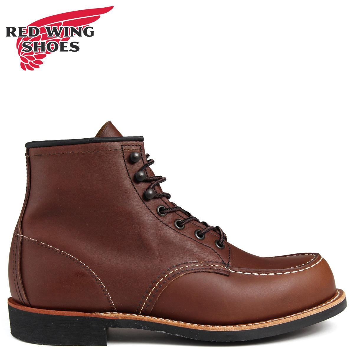 RED WING レッド 赤ウィング ブーツ COOPER TOE 6インチ Dワイズ 2954 レッド 赤ウイング メンズ ブラウン