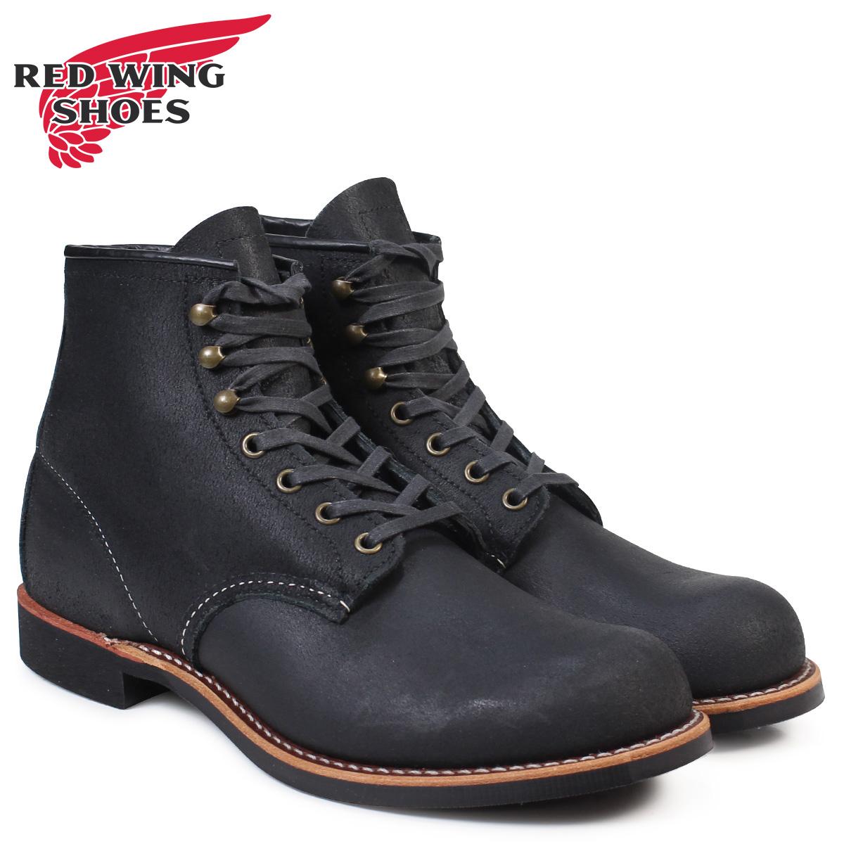 RED WING アイリッシュセッター レッド 赤ウィング 2955 ブーツ BLACKSMITH Dワイズ ブラック 黒 メンズ
