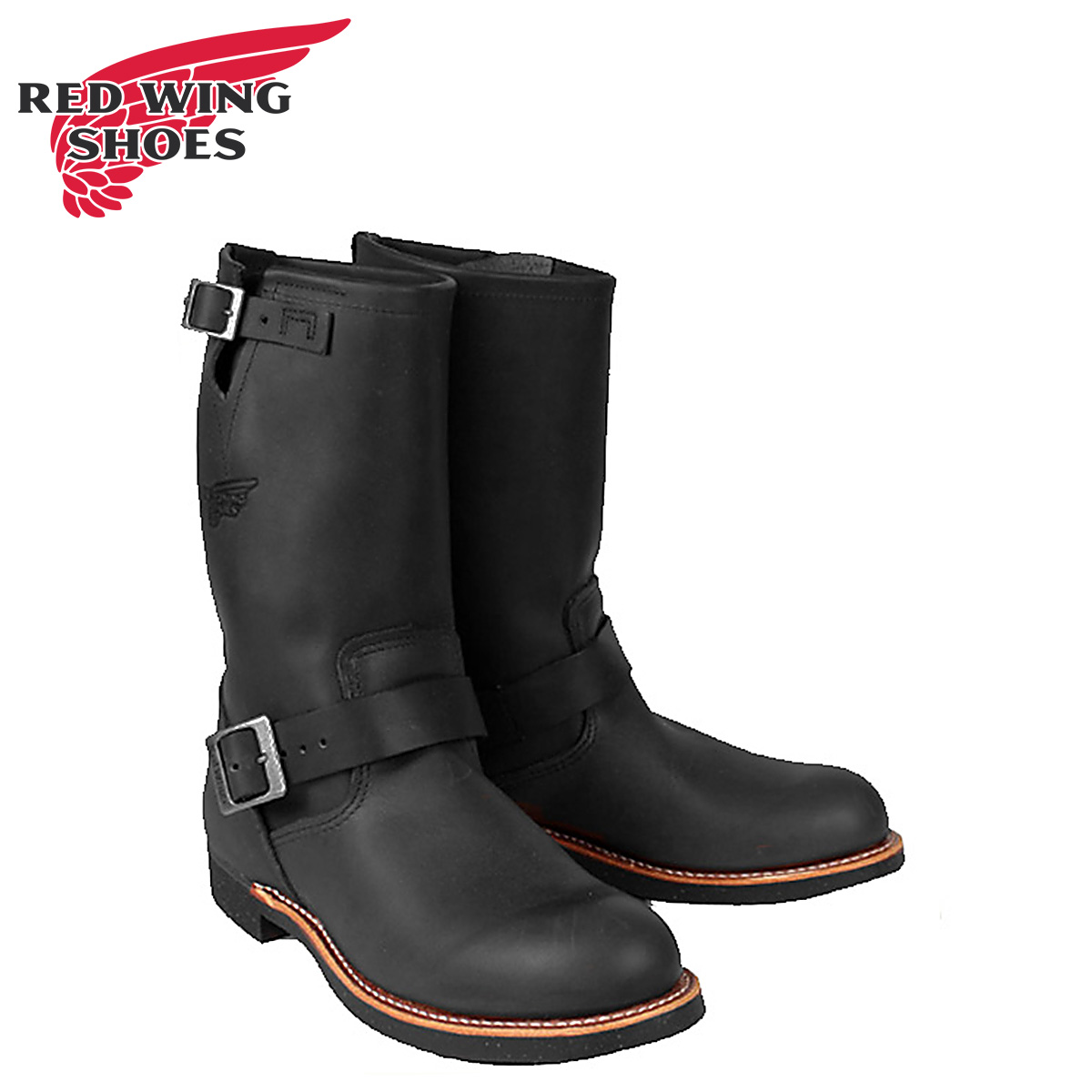 9c95258acba0 Redwing RED WING Engineer Boots 2990 Engineer Boot leather mens Made in USA  Red Wing