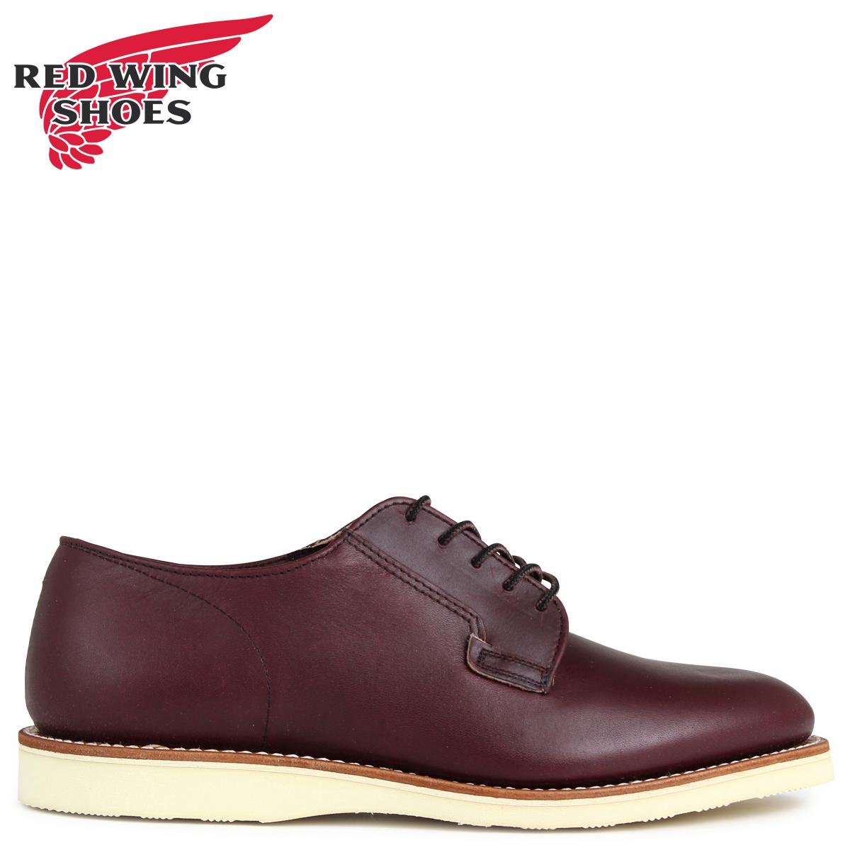 RED WING レッド 赤ウィング ブーツ ポストマン POSTMAN OXFORD Dワイズ 3117 レッド 赤ウイング メンズ ブラウン