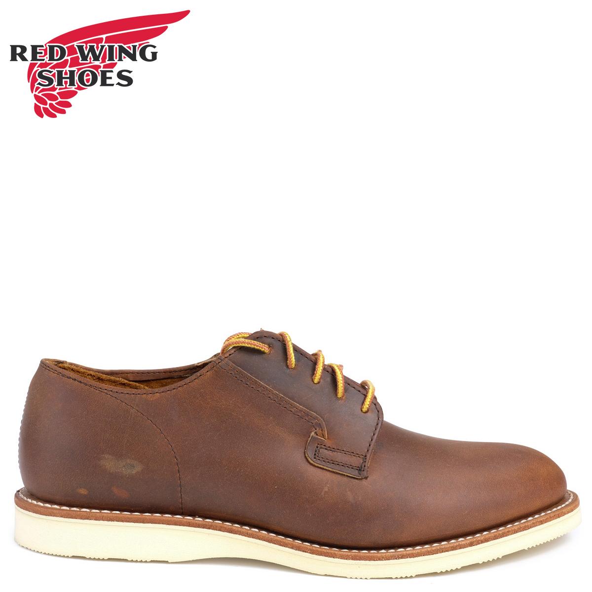 RED WING レッドウィング ブーツ ポストマン POSTMAN OXFORD Dワイズ 3118レッドウイング メンズ ブラウン
