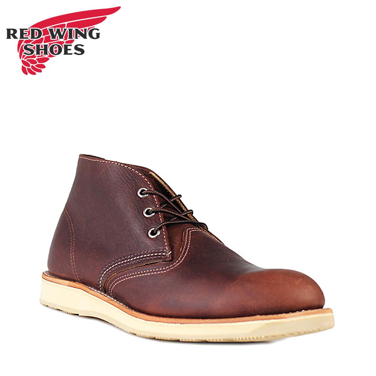 RED WING レッドウィング ブーツ チャッカブーツ クラシック メンズ CLASSIC CHUKKA Dワイズ ブラウン 3141