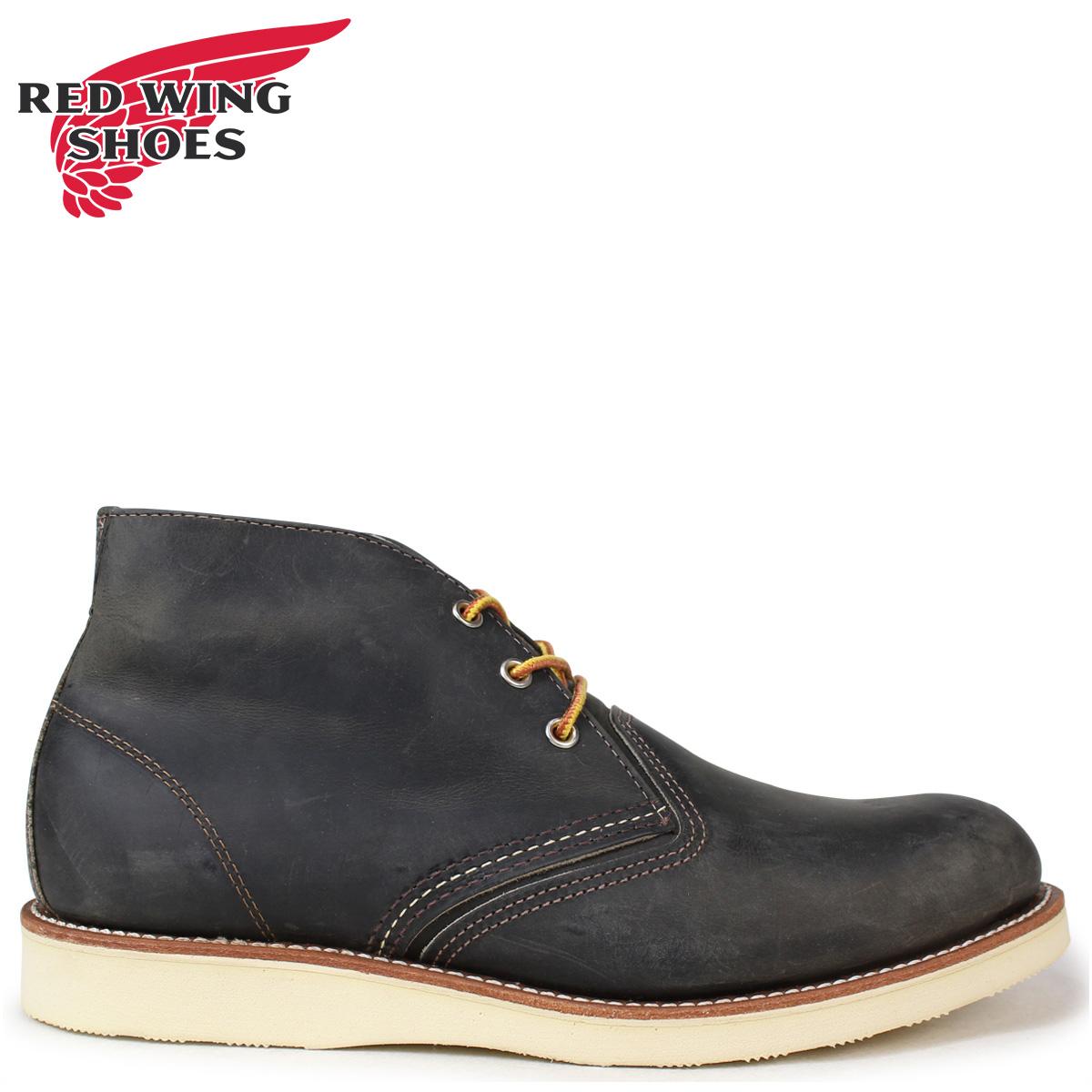 RED WING レッドウィング ブーツ チャッカブーツ クラシック メンズ CLASSIC CHUKKA Dワイズ チャコール 3150