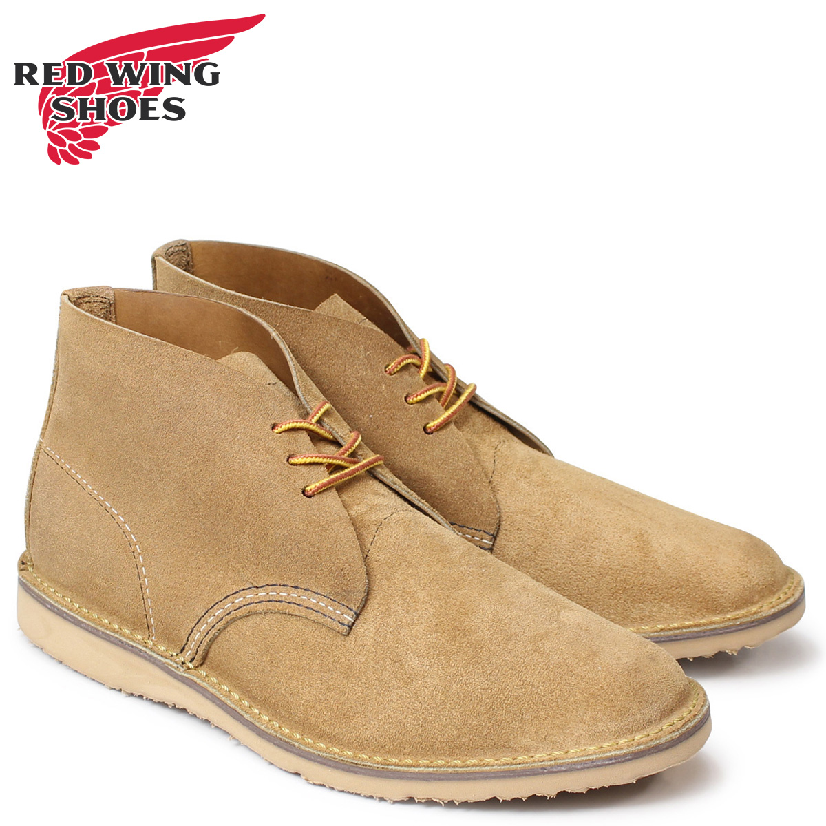 RED WING レッドウィング ブーツ チャッカブーツ メンズ WEEKENDER CHUKKA Dワイズ ブラウン 3321