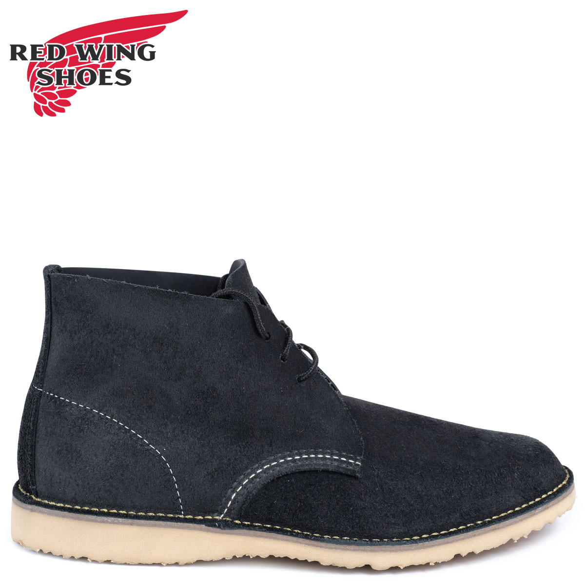 RED WING レッドウィング ブーツ チャッカ WEEKENDER CHUKKA Dワイズ 3323 レッドウイング メンズ ブラック