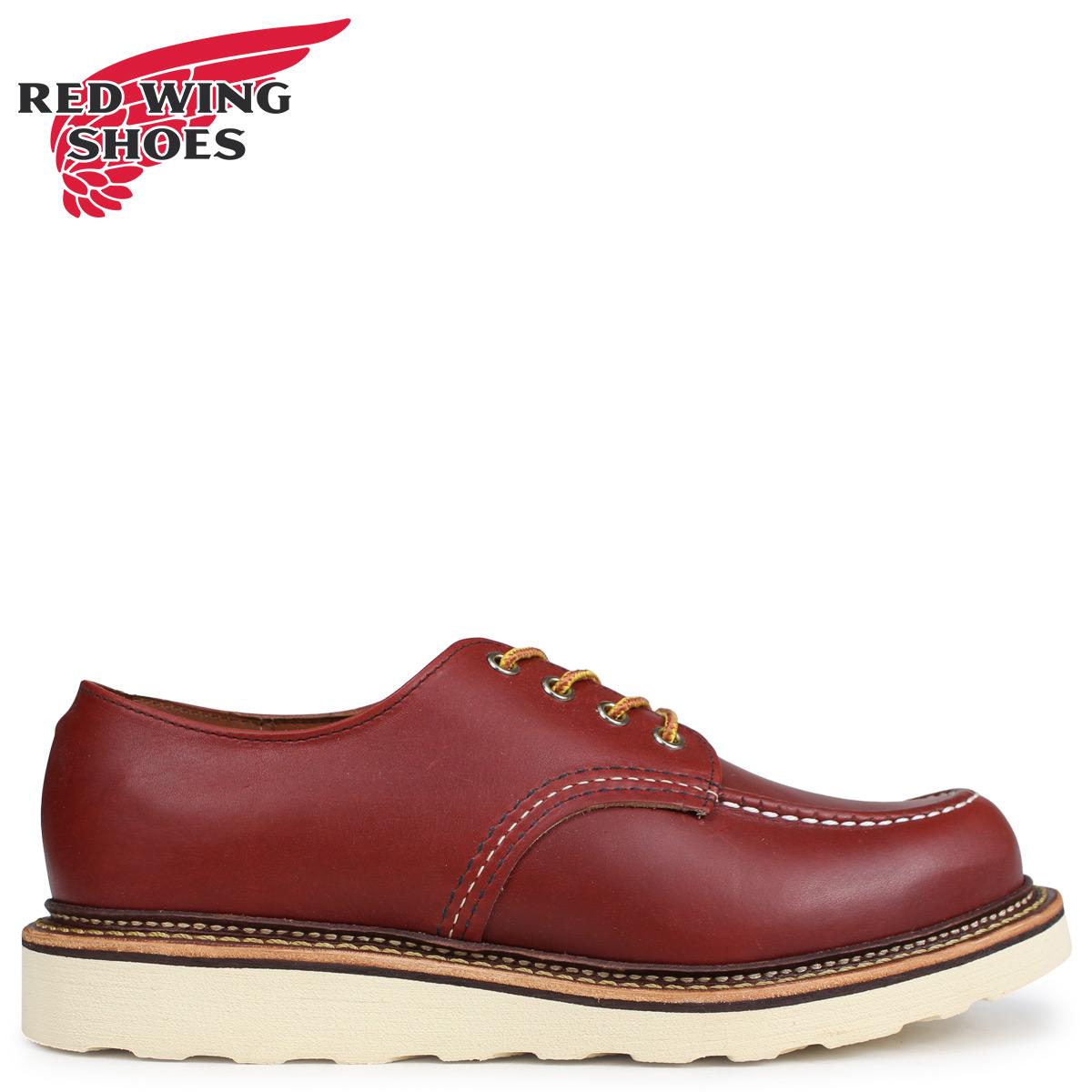 RED WING レッドウィング オックスフォード シューズ クラシック メンズ CLASSIC OXFORD Dワイズ ブラウン 8103