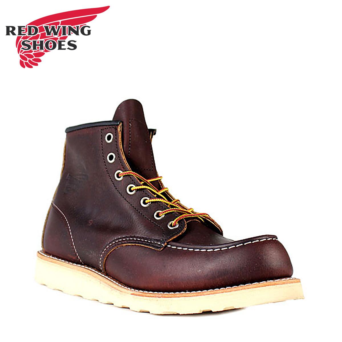 RED WING レッド 赤ウィング ブーツ 6インチ クラシック モック 6INCH CLASSIC MOC Dワイズ 8138 メンズ レディース