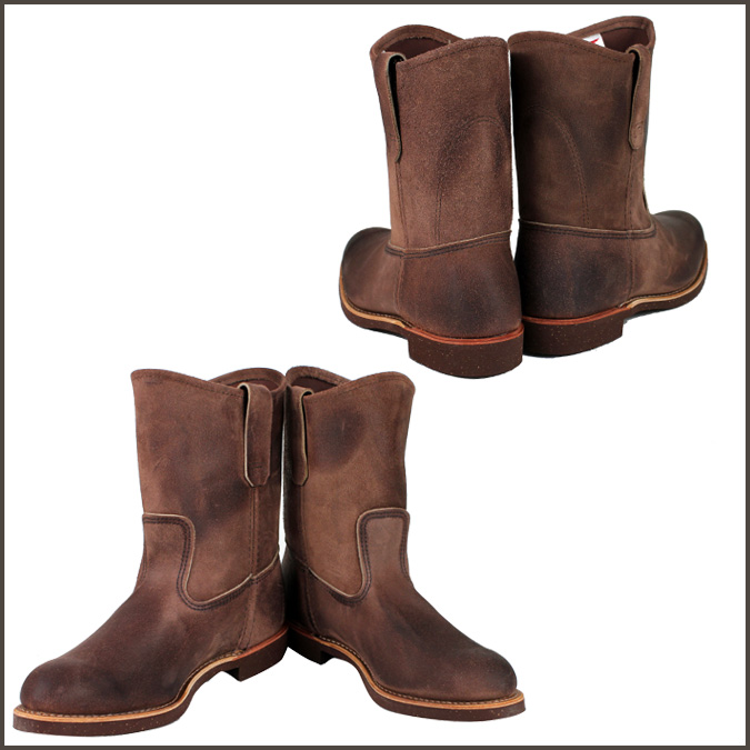 Redwing RED WING Pecos boots 8189 Pecos Boots mens Brown AMBER Made in USA Red Wing