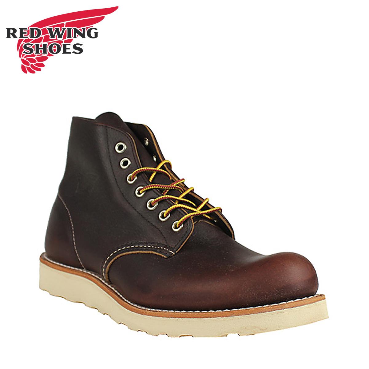 RED WING レッド 赤ウィング アイリッシュセッター ブーツ 6INCH CLASSIC ROUND 6インチ クラシック ラウンドトゥ Dワイズ 8196 レッド 赤ウイング メンズ
