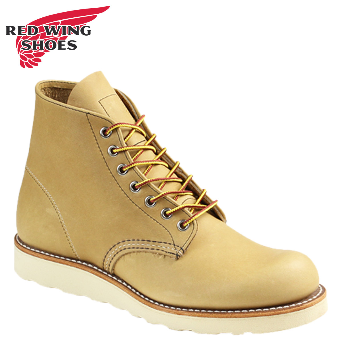 e744a965073 Red red wing RED WING Irish setter boots 6INCH CLASSIC ROUND 6 inches  classic round toe D Wise 8199 red red wing men