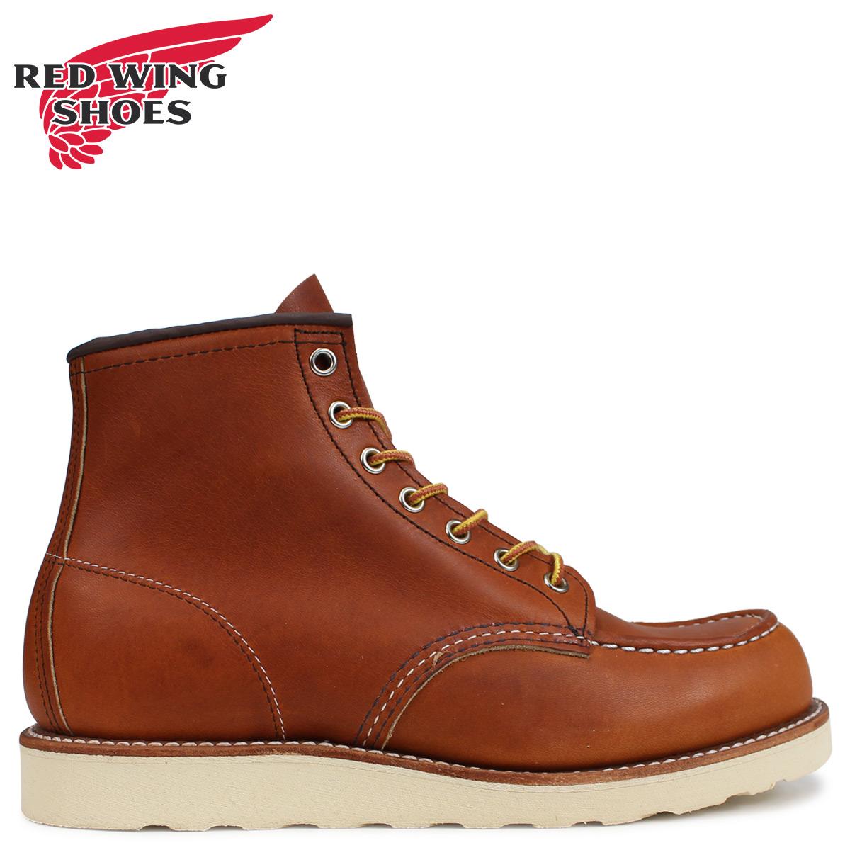 RED WING レッドウィング ブーツ アイリッシュセッター 6インチ クラシック モック メンズ 6INCH CLASSIC MOC Dワイズ ブラウン 875