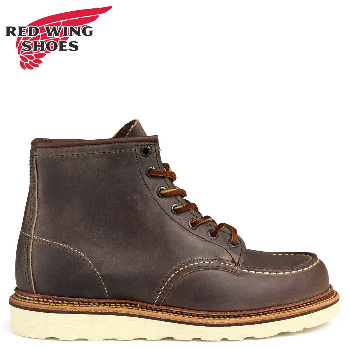 RED WING レッドウィング ブーツ 6INCH CLASSIC MOC TOE 6インチ Dワイズ 8883 レッドウイング メンズ グレーブラウン