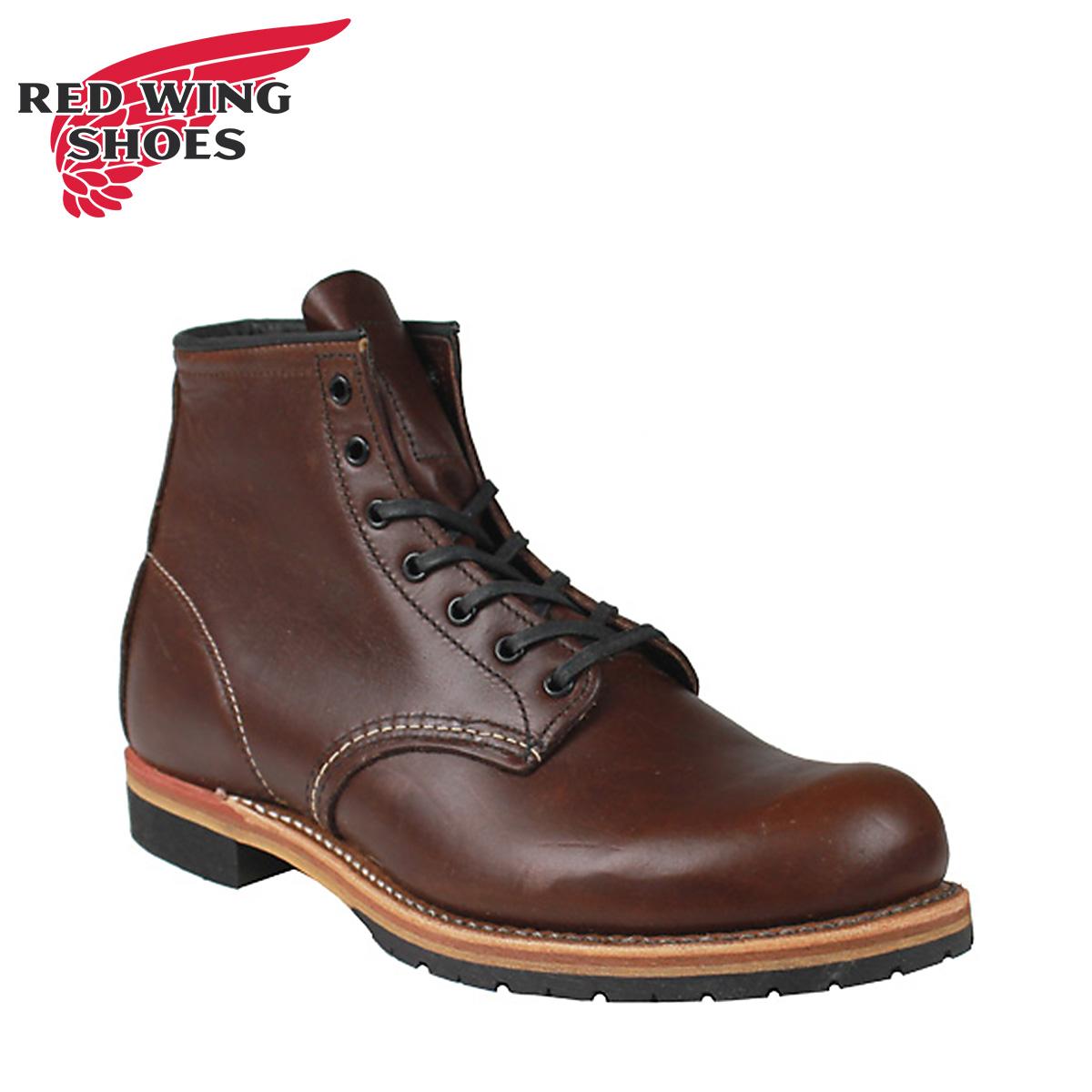 RED WING レッド 赤ウィング ベックマン ブーツ BECKMAN ROUND ラウンド トゥ Dワイズ 9016 レッド 赤ウイング ワークブーツ メンズ
