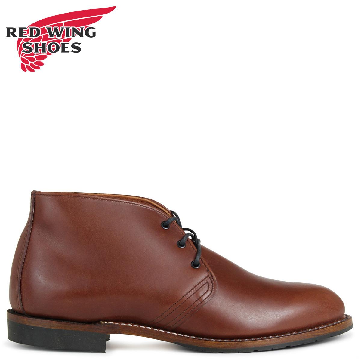 RED WING レッド 赤ウィング ブーツ ベックマン BECKMAN CHUKKA 9048 レッド 赤ウイング メンズ ブラウン