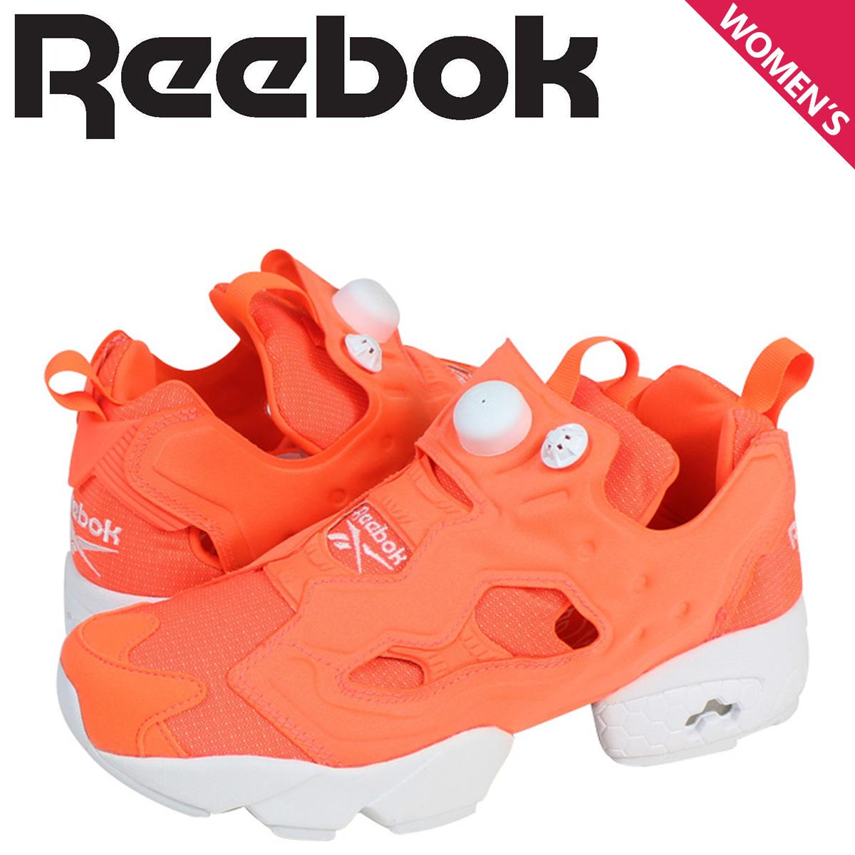 Reebok リーボック ポンプフューリー スニーカー INSTAPUMP FURY TECH M46319 メンズ レディース 靴 オレンジ