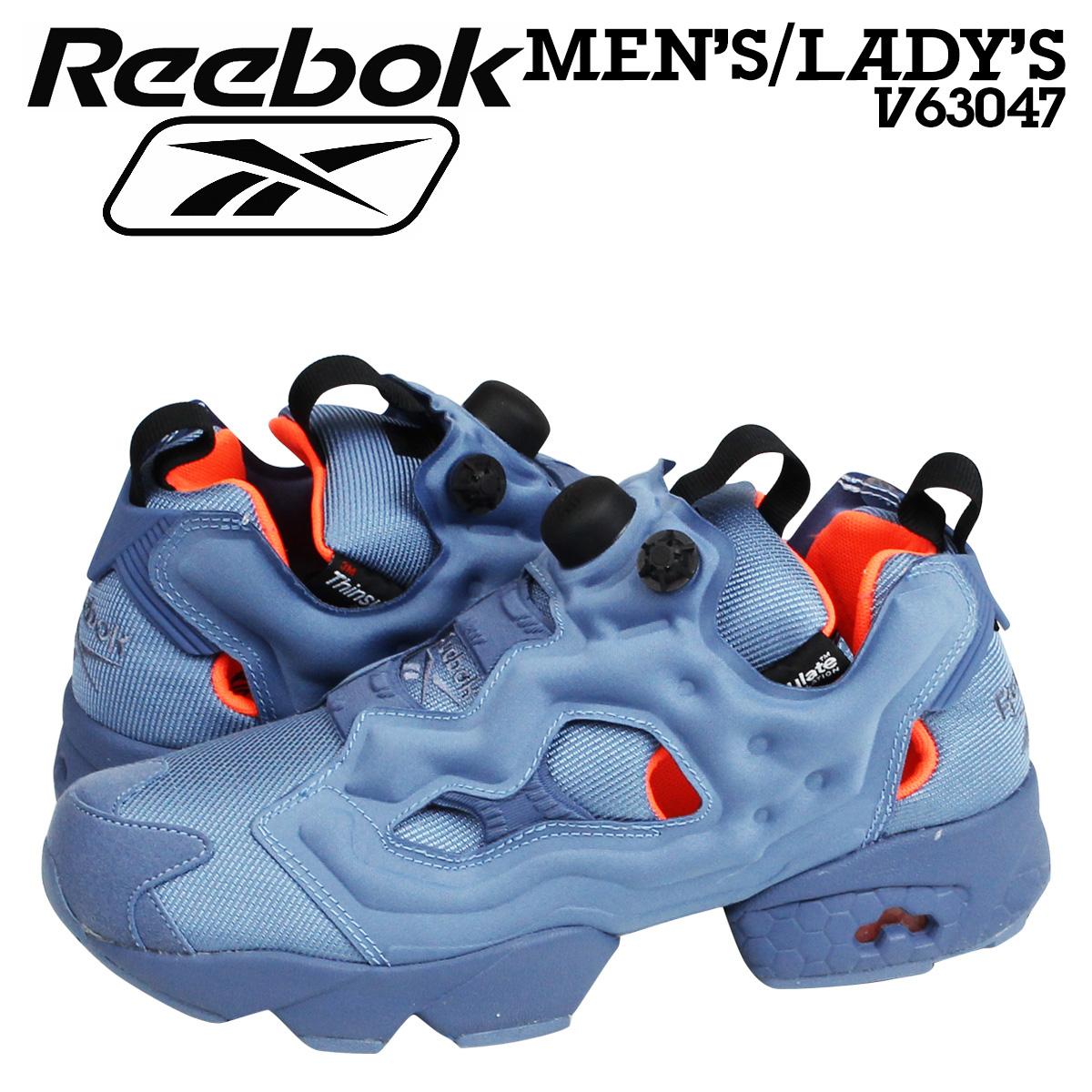 Reebok リーボック インスタ ポンプフューリー スニーカー INSTAPUMP FURY TECH V63047 メンズ レディース 靴 ブルー