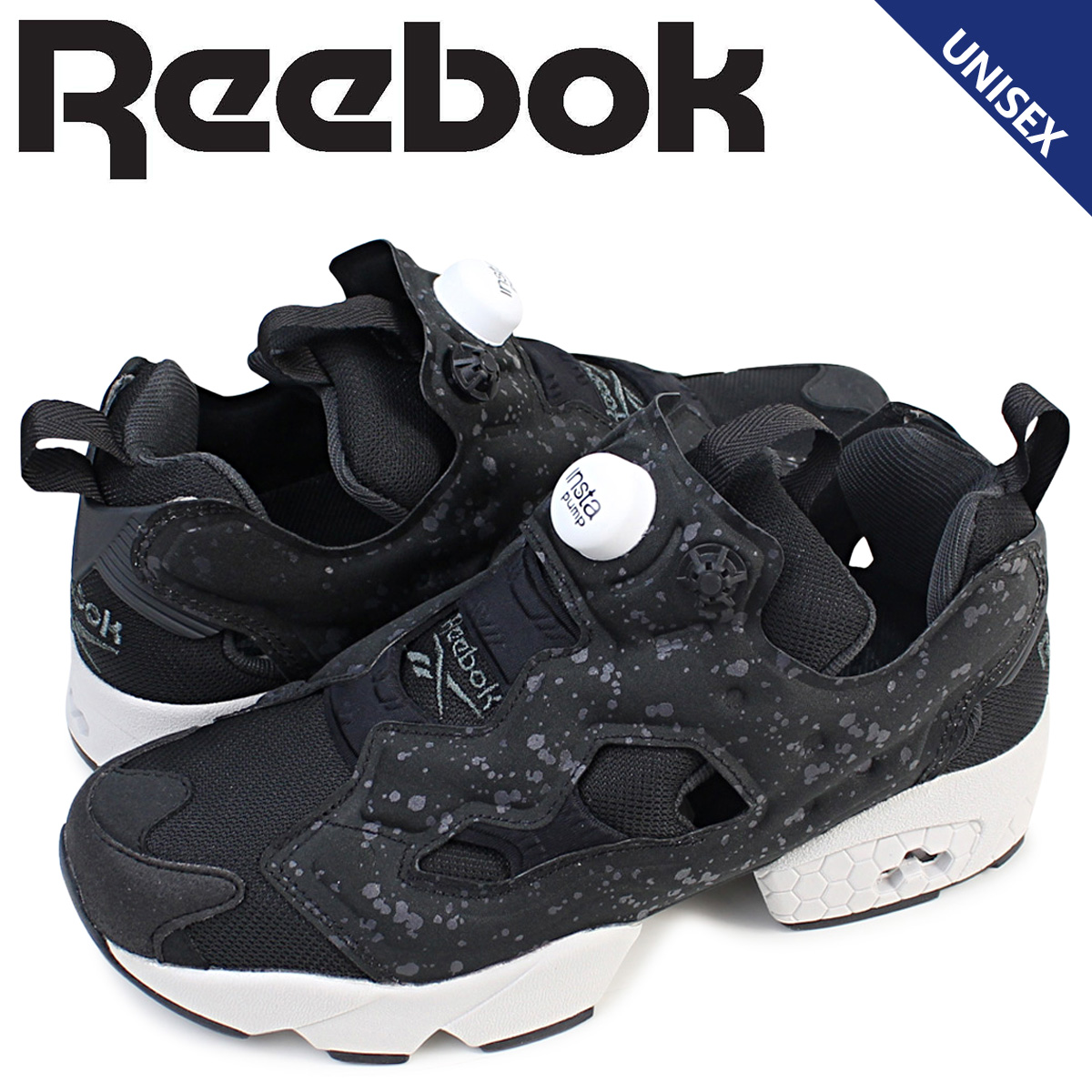 32557c123291 Reebok Reebok pump fury sneakers INSTAPUMP FURY SP AQ9803 men s women s  shoes black  8 20 new in stock
