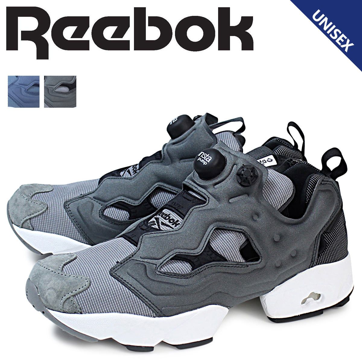 Reebok ポンプフューリー スニーカー リーボック INSTAPUMP FURY TECH レディース メンズ AR0624 AR0625 靴 ブラック ネイビー 【決算セール 返品不可】