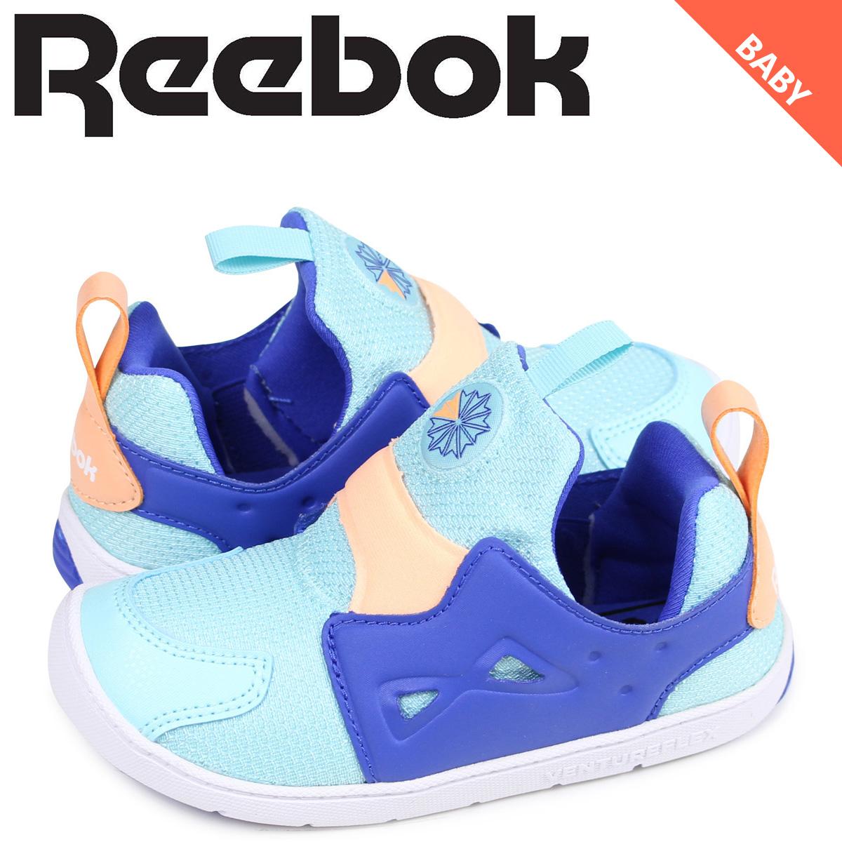 Sugar Online Shop  Reebok venture flextime baby sneakers slip-ons Reebok  VENTURE FLEX 2.0 CM9145 blue  ebe96c39d