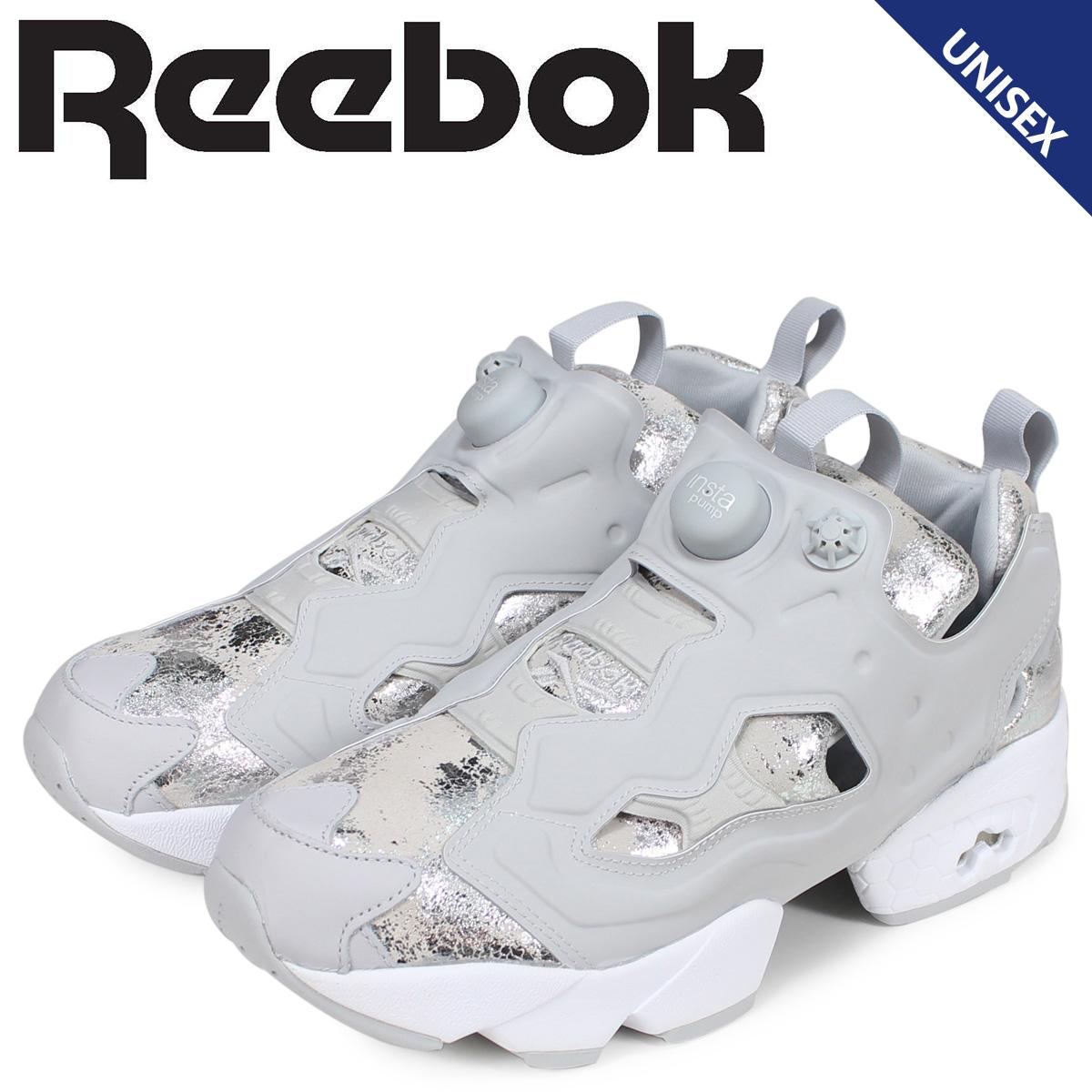 Reebok リーボック インスタ ポンプフューリー スニーカー レディース メンズ INSTAPUMP FURY HYPER METALLIC グレー CN0240
