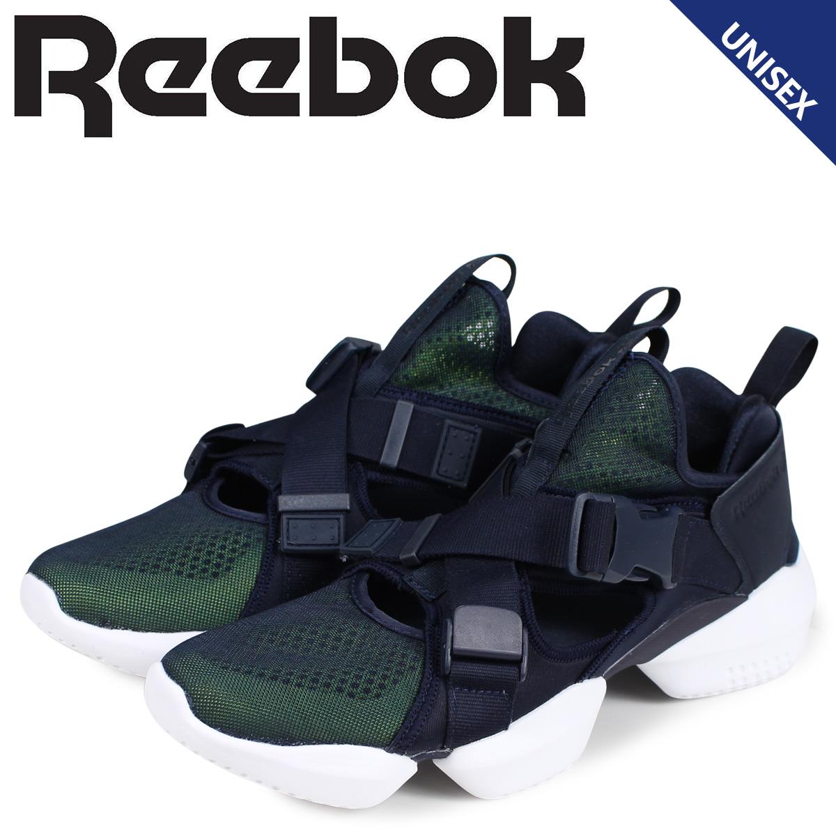 Reebok リーボック オーパス ストラップ スニーカー レディース メンズ 3D OP S-STRP ネイビー CN7916