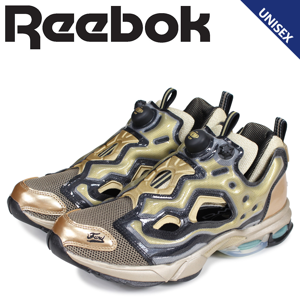Reebok リーボック フューリー ディーエムエックス スニーカー メンズ レディース FURY DMX TXT ベージュ DV4601