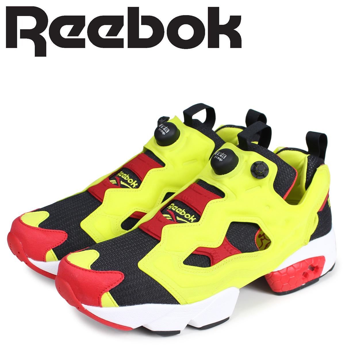 Reebok リーボック インスタ ポンプフューリー シトロン スニーカー メンズ INSTAPUMP FURY OG CITRON ブラック V47514