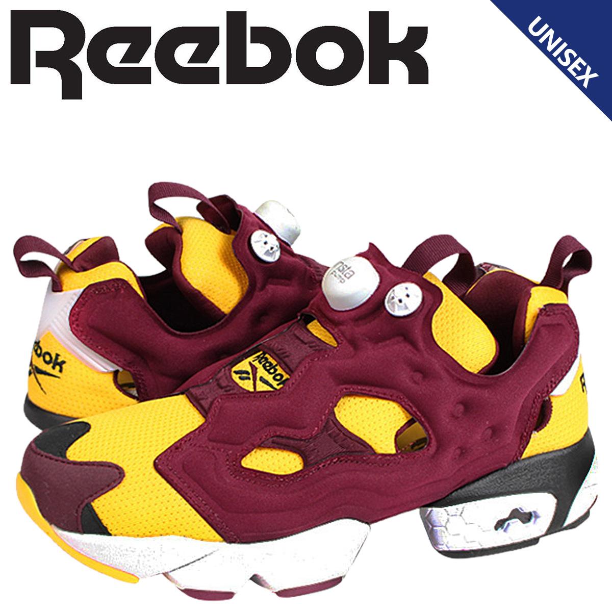 Reebok リーボック ポンプフューリー アイアンマン スニーカー INSTAPUMP FURY OG IRONMAN V62247 メンズ レディース 靴 イエロー レッド