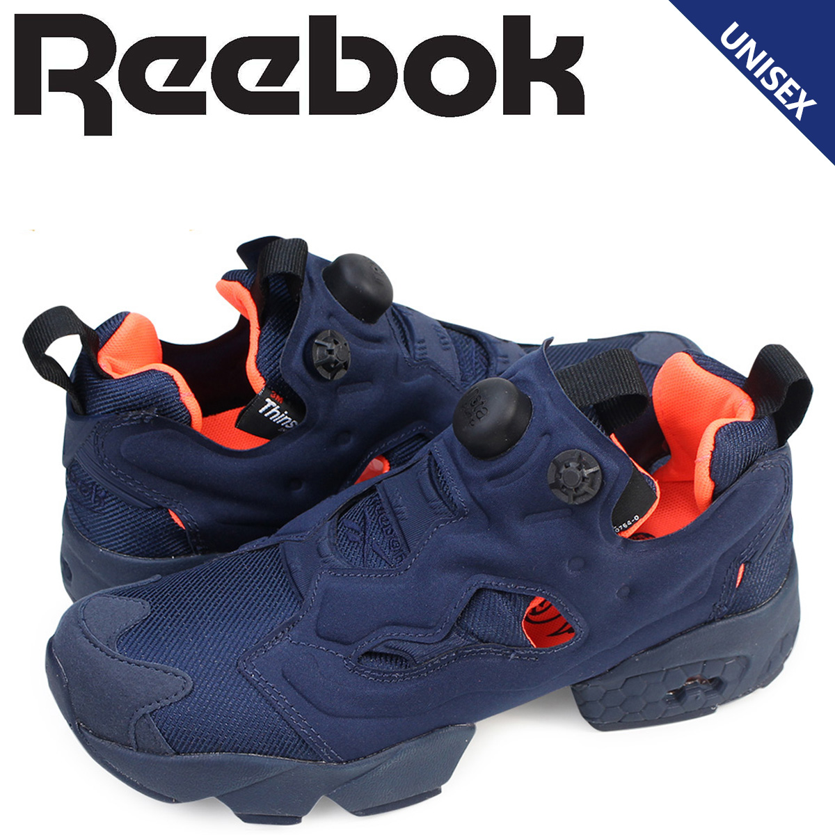 Reebok ポンプフューリー スニーカー リーボック INSTAPUMP FURY TECH メンズ レディース V63499 靴 ネイビー