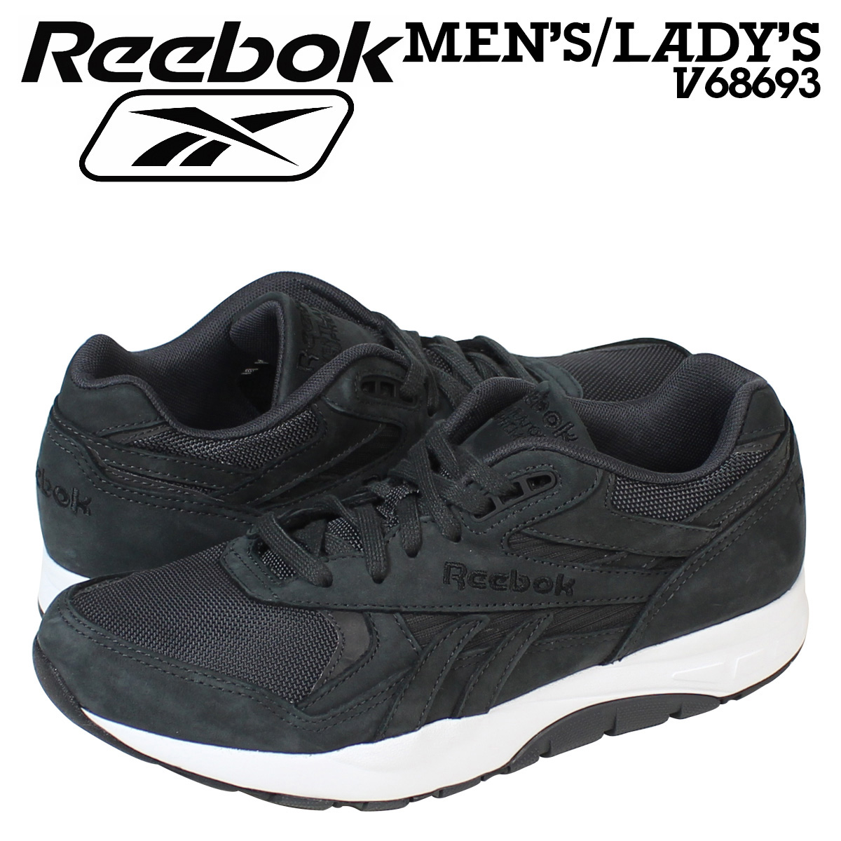 cf2eae8604c Sugar Online Shop  Reebok Reebok ventilator Supreme sneaker VENTILATOR  SUPREME V68693 men s women s shoes black