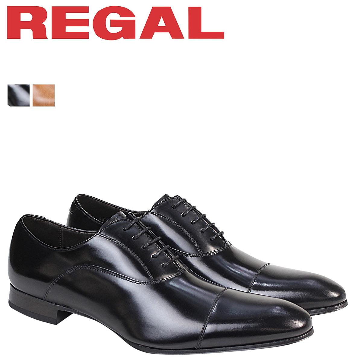 REGAL 靴 メンズ リーガル ストレートチップ 011RAL ビジネスシューズ 防水 [4/3 追加入荷]