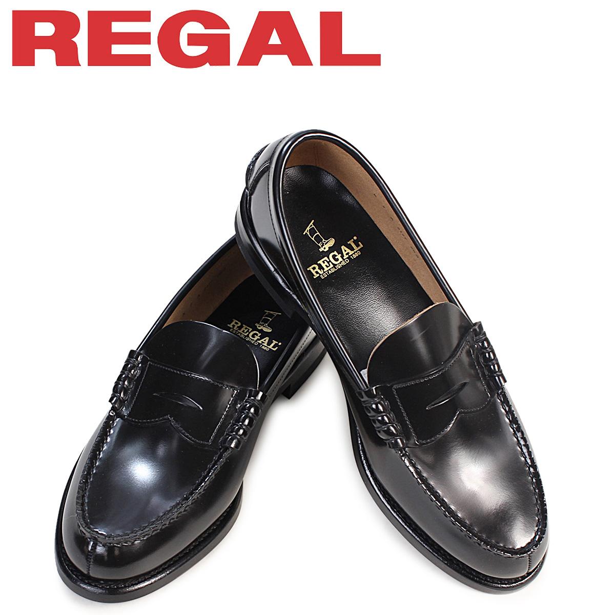 REGAL 靴 メンズ リーガル ローファー 2177N 2177NEB ビジネスシューズ ブラック 黒