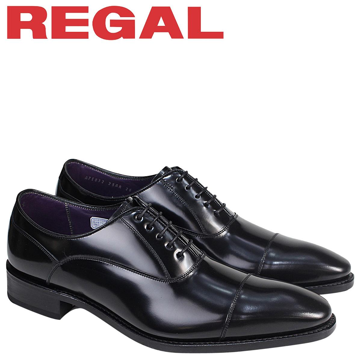 REGAL 靴 メンズ リーガル ストレートチップ 25ARBE ビジネスシューズ ブラック